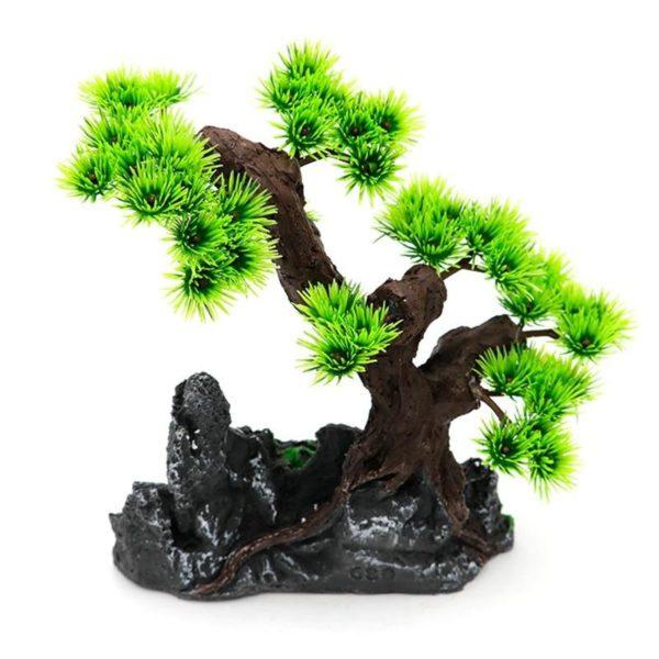 Rochers et arbre aquarium pas cher