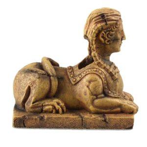 Sphinx égyptien aquarium decoration