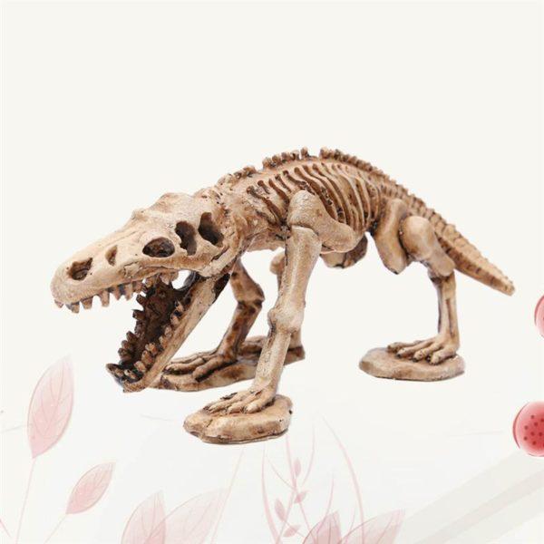 Squelette de Reptile deco aquarium