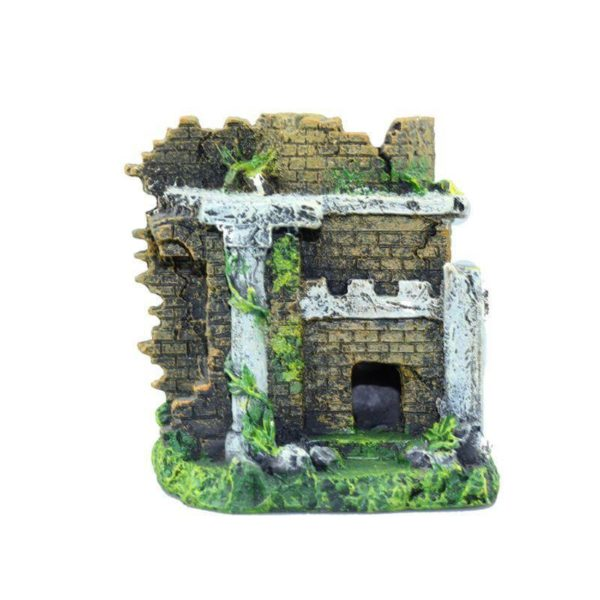 Temple en Ruine décorations aquarium