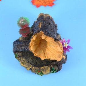 Tronc sur Rocher déco aquarium