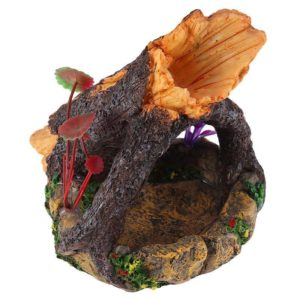 Tronc sur Rocher decoration aquarium