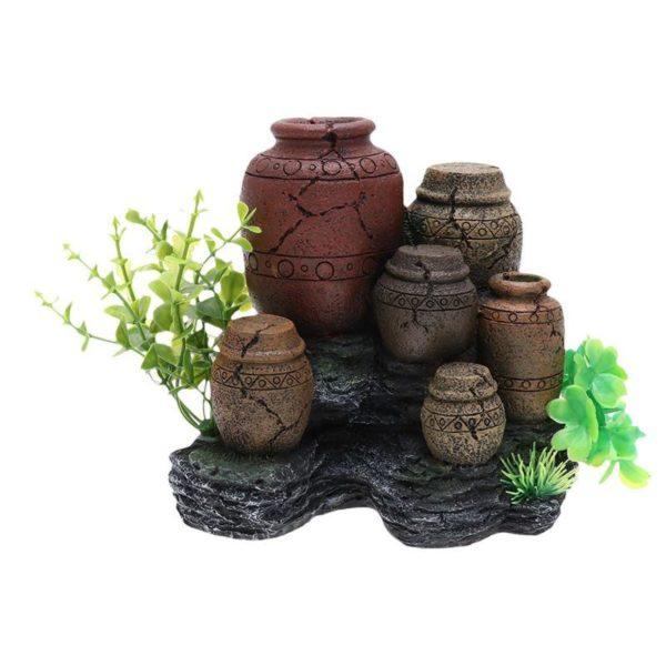 Vases antiques aquarium