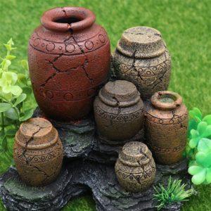 Vases antiques aquarium pas cher