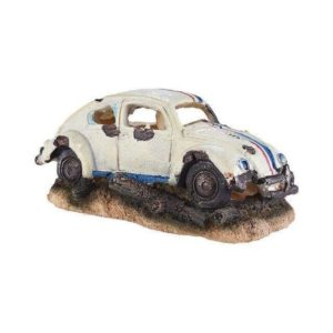 Voiture coccinelle épave decoration aquarium