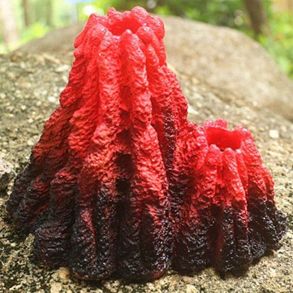 Volcan bulleur à double sortie décorations