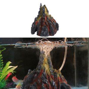 Volcan pour bulleur d'aquarium