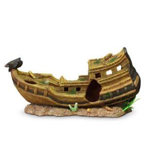 bateau égyptien aquarium