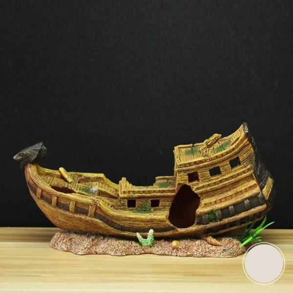 bateau égyptien aquarium pas cher