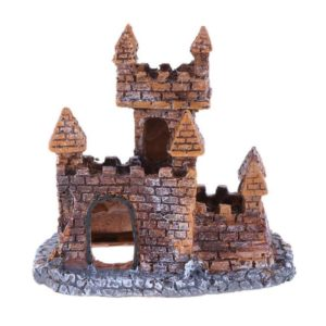château en briques aquarium