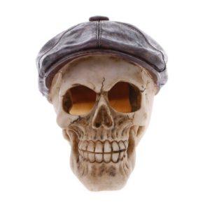 crâne avec béret aquarium pas cher