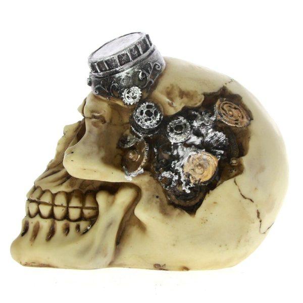 crâne aviateur gothique aquarium pas cher