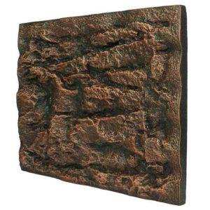 Fond aquarium en relief pierre préhistorique