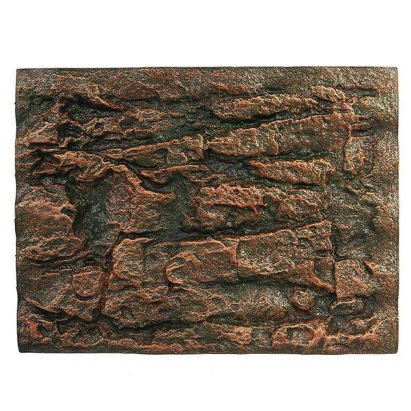 Fond aquarium en relief pierre préhistorique réaliste