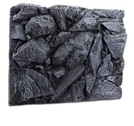 fond aquarium en relief rocher escarpé réaliste