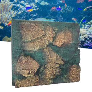 fond aquarium lagon bleu pas cher