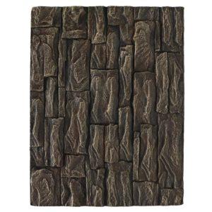 fond aquarium pavés bruns en relief