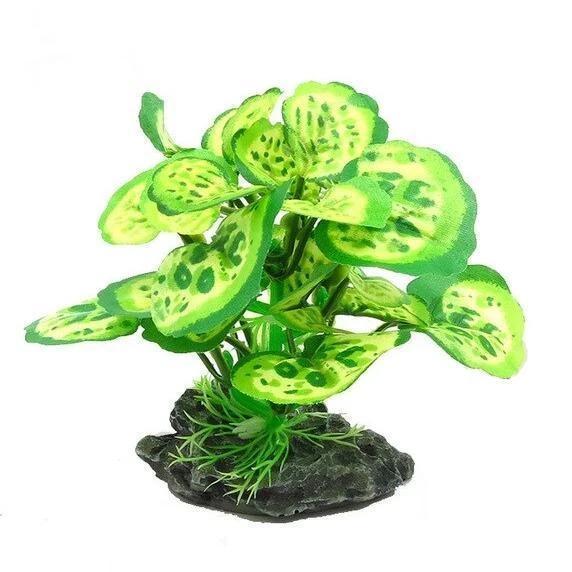 plantes vertes réalistes aquarium decoration