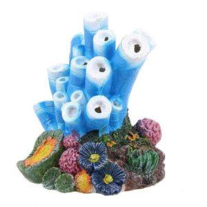 coraux aquarium avec sortie oxygene