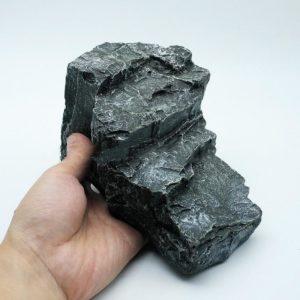 rocher en relief gris aquarium pas cher