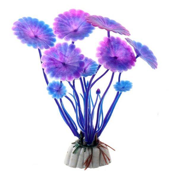 Fleur Aquatique decoration aquarium