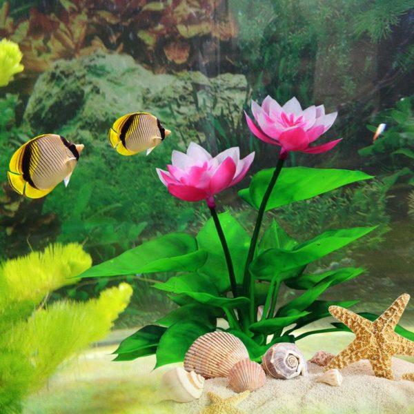 Fleur Artificielle Aquarium deco aquarium