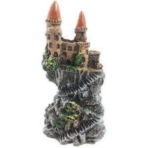 Petit Chateau sur Rocher decoration aquarium