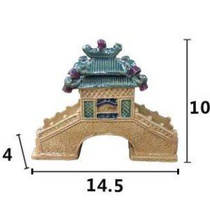 Pont Chinois décoration aquarium