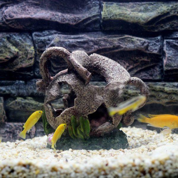 Pot Cassé deco aquarium