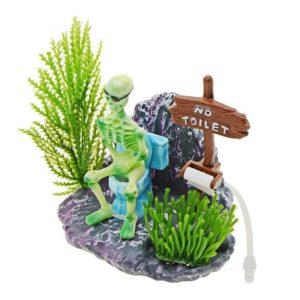 No Toilet décoration aquarium