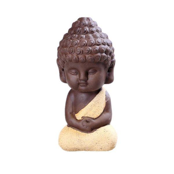 Petite Statue Bouddha déco aquarium