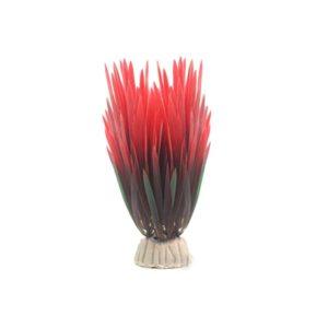 Plante Artificiel Rouge decoration aquarium