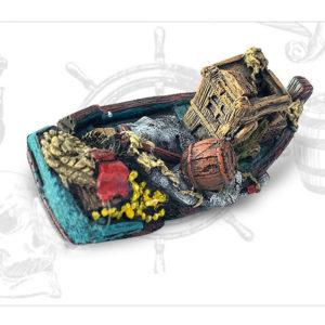 épave de bateau de marchand décoration aquarium