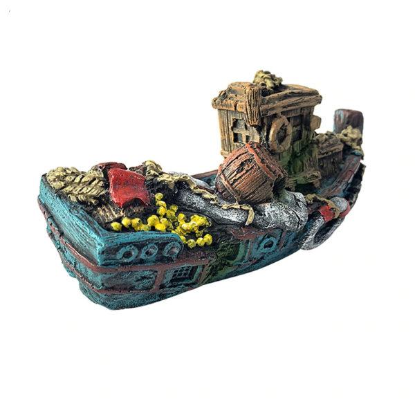 épave de bateau de marchand pour aquarium