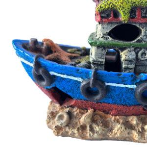 navire pour aquarium réaliste