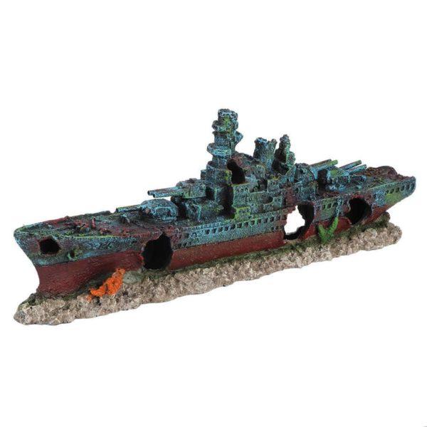 Bateau de Guerre déco aquarium
