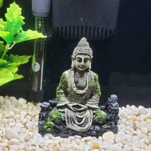 Bouddha Imitation Pierre deco aquarium