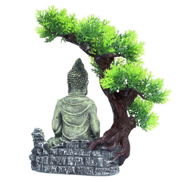 Bouddha sous un Arbre décoration aquarium