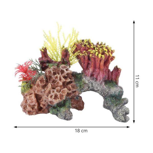 Corail sur Rocher décoration aquarium