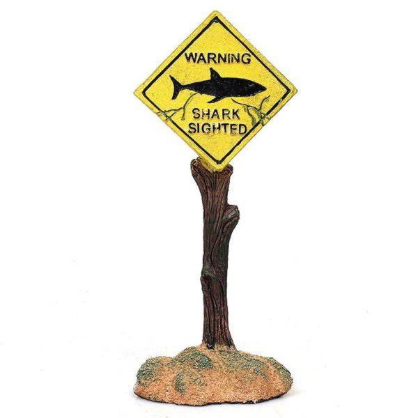 Panneau Danger pour Aquarium decoration aquarium