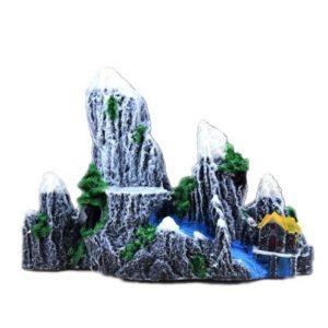 Paysage de Montagne decoration aquarium