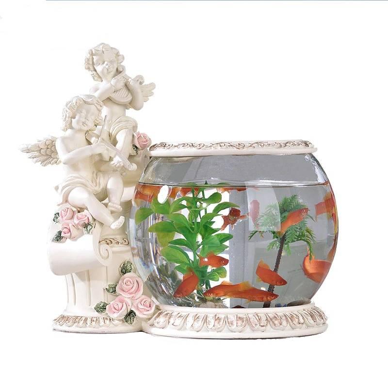 Aquarium Design statue