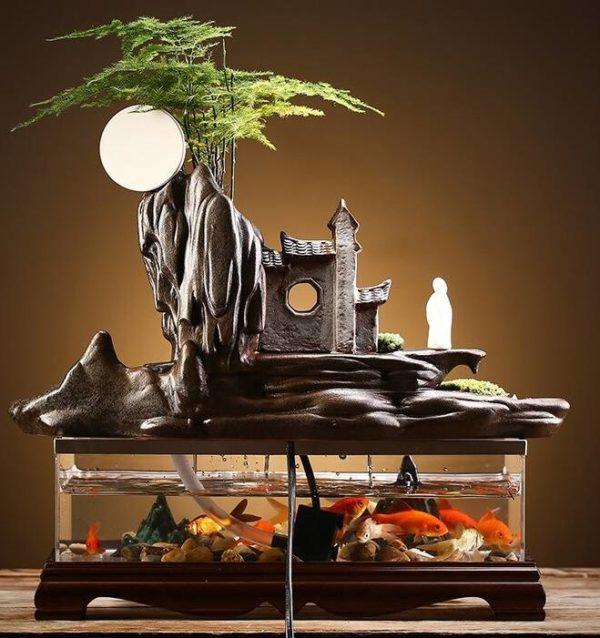 Aquarium Design en Bois aquariophiles