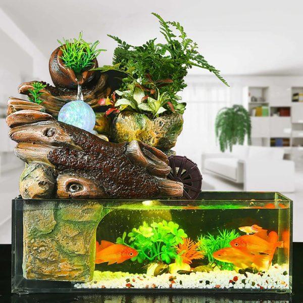 Aquarium Design pour Poisson Rouge pas cher