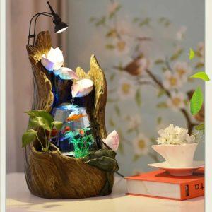 Aquarium design pour salon zen