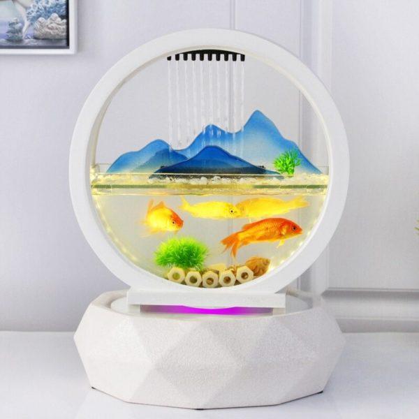 aquarium design nano pour poissons