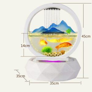 petit aquarium design nano
