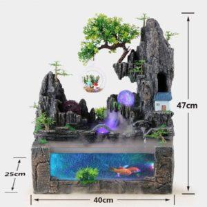 Aquarium Design Montagne Zen pas cher