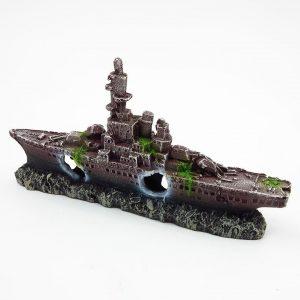 bateau aquarium rouille 1