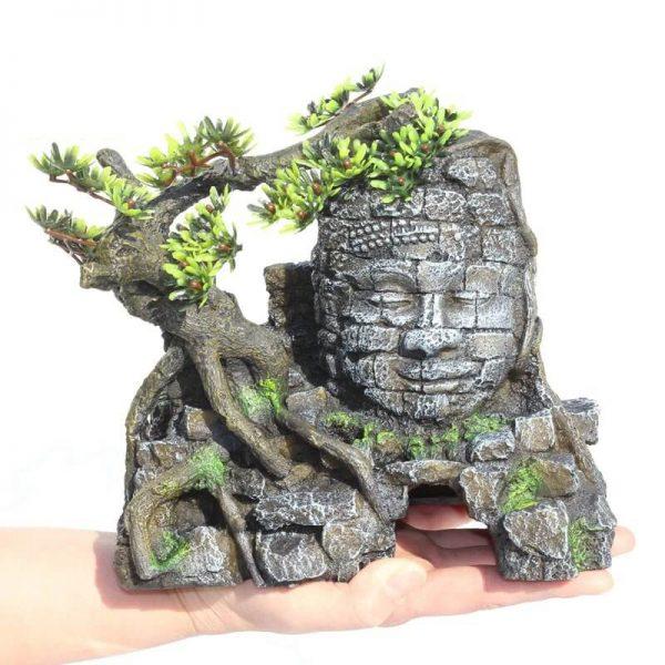 statuette bouddha aquarium 2 1
